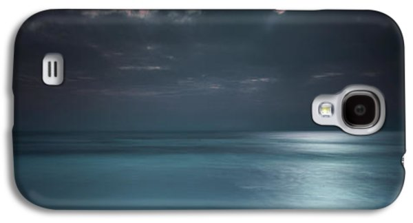 On The Beach Galaxy S4 Cases - Magical Night on the Beach Galaxy S4 Case by Marco Crupi