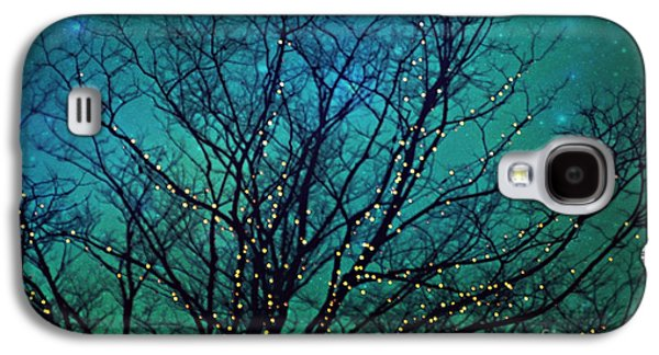 Twinkle Galaxy S4 Cases - Magical night Galaxy S4 Case by Sylvia Cook