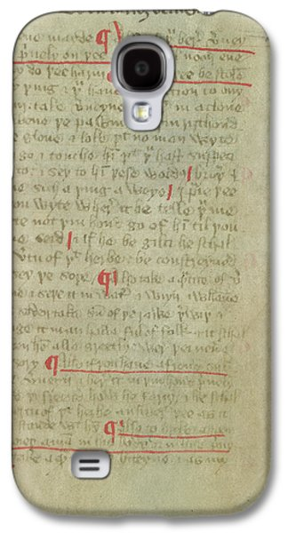 Magical Recipes Galaxy S4 Case by British Library