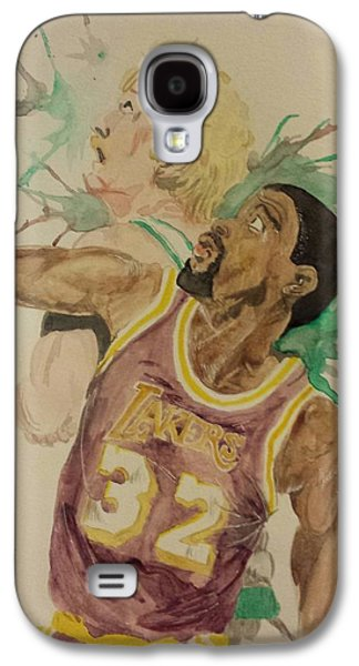 Larry Bird Galaxy S4 Cases - MagicBird Galaxy S4 Case by DMo Herr