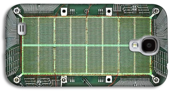 Magnetic-core Memory Of Siemens Computer Galaxy S4 Case by Pasieka