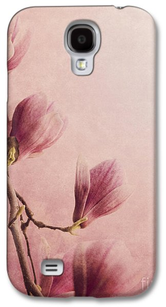 Greeting Cards Pyrography Galaxy S4 Cases - Magnolia Galaxy S4 Case by Jelena Jovanovic