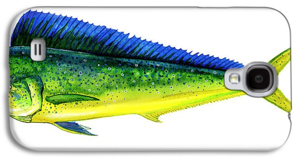 Fighters Galaxy S4 Cases - Mahi Mahi Galaxy S4 Case by Charles Harden