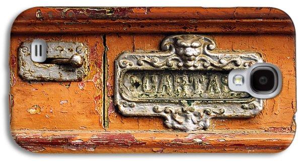 Old Door Galaxy S4 Cases - Mail Slot Galaxy S4 Case by Carlos Caetano