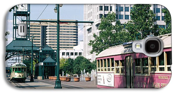 Tn Galaxy S4 Cases - Main Street Trolley Memphis Tn Galaxy S4 Case by Panoramic Images
