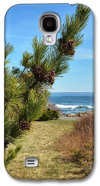 Beach Landscape Galaxy S4 Cases - Maine Coast Galaxy S4 Case by Yvonne Levesque