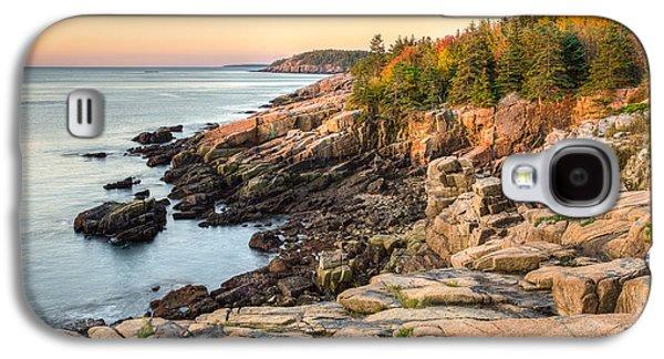 Coastal Maine Galaxy S4 Cases - Maine Coastal Photograph - Acadia National Park Galaxy S4 Case by Bill Swindaman