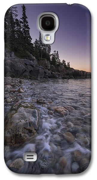 Maine Beach Galaxy S4 Cases - Maine Dawn Galaxy S4 Case by Rick Berk