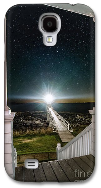 Mid-coast Maine Galaxy S4 Cases - Maines Premier Porch Light Galaxy S4 Case by Scott Thorp