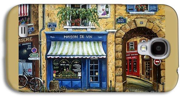 Maison De Vin Galaxy S4 Case by Marilyn Dunlap