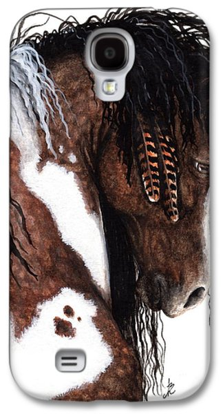 Gypsy Galaxy S4 Cases - Majestic Gypsy Horse 131 Galaxy S4 Case by AmyLyn Bihrle