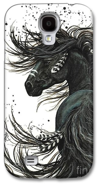 Mustang Galaxy S4 Cases - Majestic Spirit Horse 65 Galaxy S4 Case by AmyLyn Bihrle