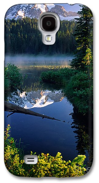 Strong America Galaxy S4 Cases - Majestic Reflection Galaxy S4 Case by Inge Johnsson