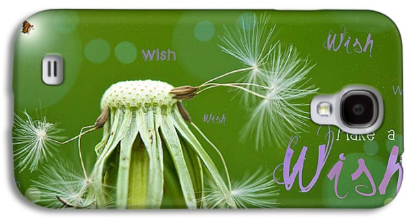 Weed Digital Galaxy S4 Cases - Make a Wish Card Galaxy S4 Case by Lisa Knechtel