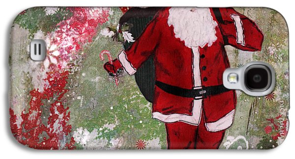 Christmas Art Galaxy S4 Cases - Making Spirits Bright Galaxy S4 Case by Janelle Nichol
