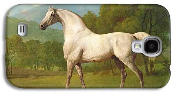 Race Horse Galaxy S4 Cases - Mambrino, C.1790 Galaxy S4 Case by George Stubbs