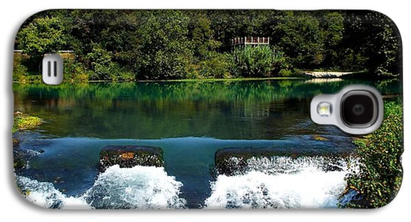 Will Power Photographs Galaxy S4 Cases - Mammoth Springs Galaxy S4 Case by Cindy Croal