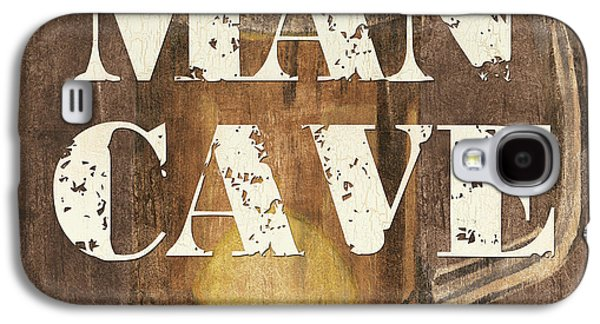 Person Galaxy S4 Cases - Man Cave My Cave My Rules Galaxy S4 Case by Debbie DeWitt