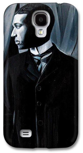 African-american Sculptures Galaxy S4 Cases - Man in Suit and Tie Galaxy S4 Case by Joyce Owens