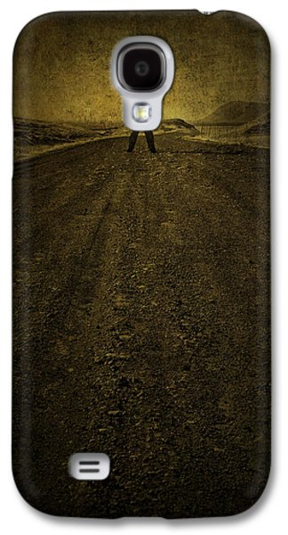 Road Travel Galaxy S4 Cases - Man on A Mission Galaxy S4 Case by Evelina Kremsdorf