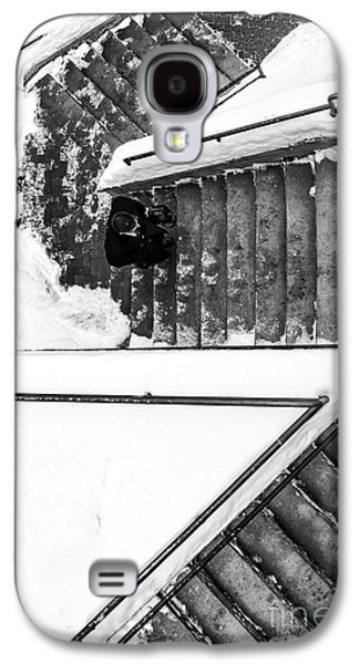 Concord Galaxy S4 Cases - Man on staircase Concord New Hampshire 2015 Galaxy S4 Case by Edward Fielding