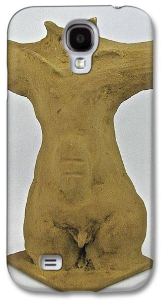 Ancient Ceramics Galaxy S4 Cases - Man Renewed Galaxy S4 Case by Mario Perron