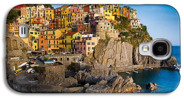 Architecture Photographs Galaxy S4 Cases - Manarola Galaxy S4 Case by Inge Johnsson