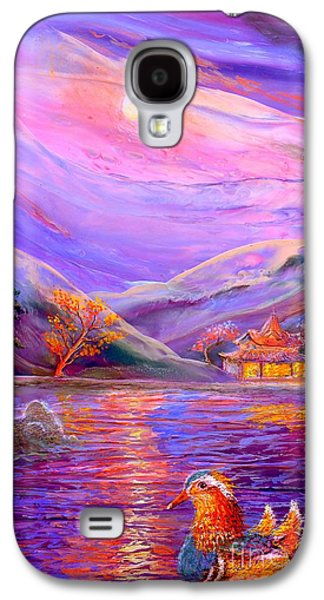 Dreamscape Galaxy S4 Cases - Mandarin Dream Galaxy S4 Case by Jane Small