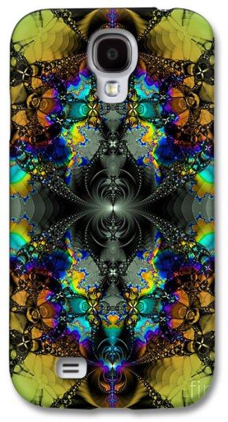 Sink Hole Galaxy S4 Cases - Mandelbrot Test / Sink Hole Galaxy S4 Case by Elizabeth McTaggart
