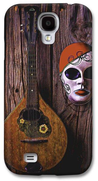 Mandolin Still Life Galaxy S4 Case by Garry Gay