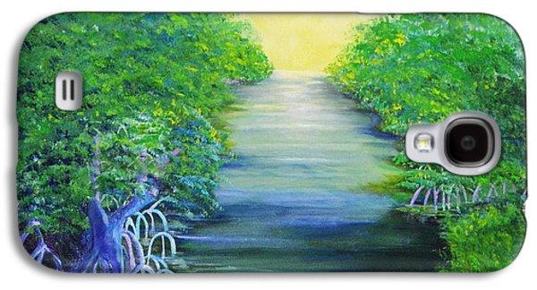 Mangrove Retreat Galaxy S4 Case by Jane Ricker