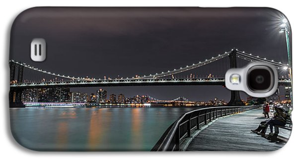 Manhattan Bridge - New York - Usa 2 Galaxy S4 Case by Larry Marshall