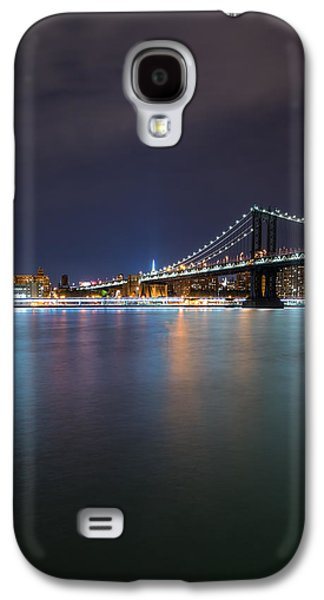 Manhattan Bridge - New York - Usa Galaxy S4 Case by Larry Marshall