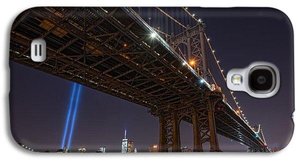 Manhatan Galaxy S4 Cases - Manhattan Bridge 911 Galaxy S4 Case by Michael Ver Sprill