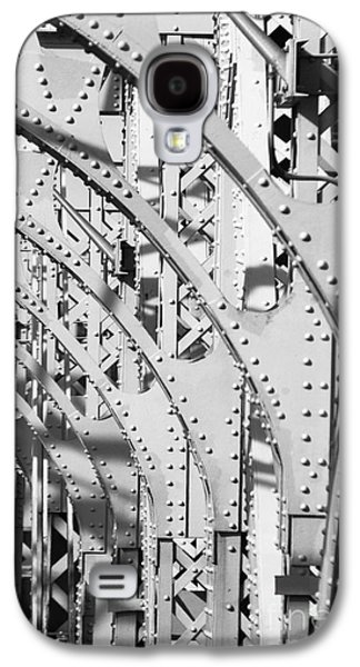 Surtex Licensing Galaxy S4 Cases - Manhattan Bridge Light and Shadows Architectural Photography Galaxy S4 Case by Anahi DeCanio - ArtyZen Studios
