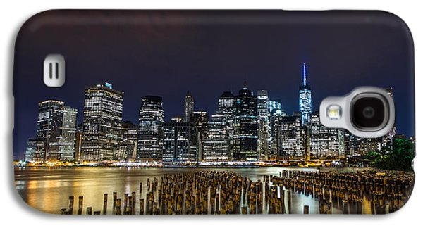 Manhattan Skyline - New York - Usa Galaxy S4 Case by Larry Marshall