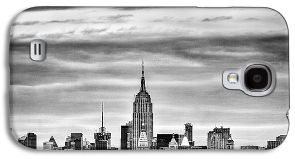 The New York New York Galaxy S4 Cases - Manhattan Skyline Galaxy S4 Case by John Farnan