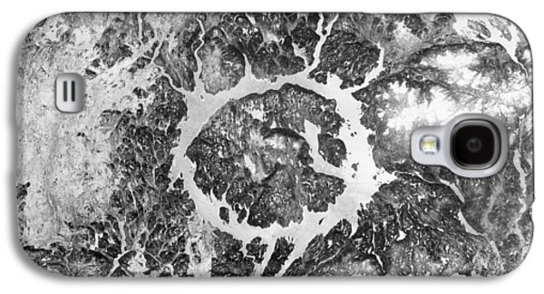 Manicouagan Crater Galaxy S4 Case by Anonymous