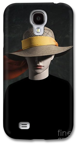 Creepy Galaxy S4 Cases - Mannequin With Hat Galaxy S4 Case by Carlos Caetano