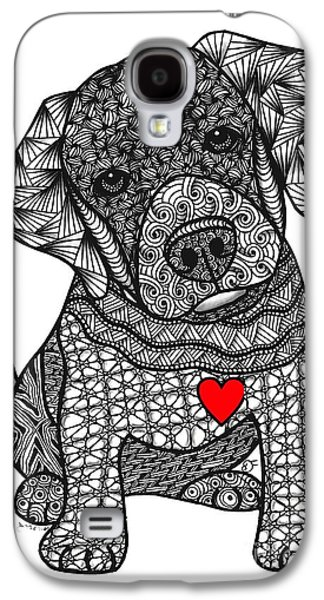 Water Dogs Mixed Media Galaxy S4 Cases - Mans Best Friend - Labrador Retriever Galaxy S4 Case by Dianne Ferrer