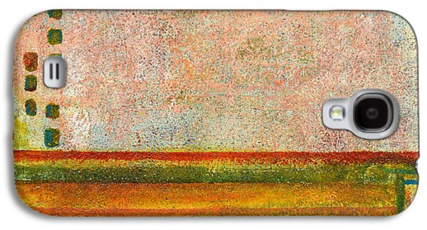 Abstract Movement Mixed Media Galaxy S4 Cases - Mansard Galaxy S4 Case by Moon Stumpp