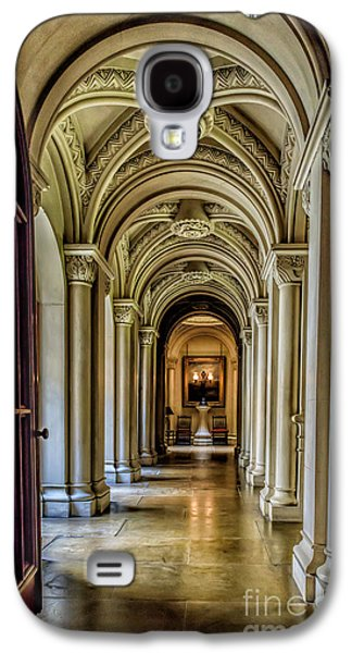 North Wales Digital Art Galaxy S4 Cases - Mansion Hallway Galaxy S4 Case by Adrian Evans