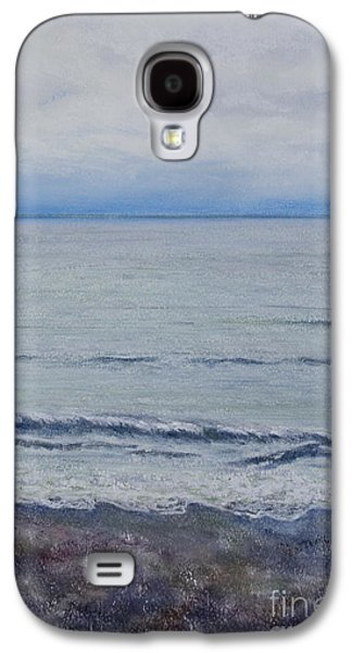 Autumn Landscape Pastels Galaxy S4 Cases - Manx Mist Galaxy S4 Case by Stanza Widen