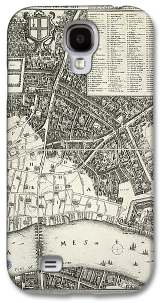 Map Of London Galaxy S4 Case by British Library