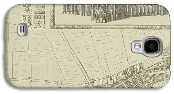 Map Of Westminster In The City Of London Galaxy S4 Case by British Library