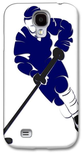 Maple Leafs Shadow Player Galaxy S4 Case by Joe Hamilton