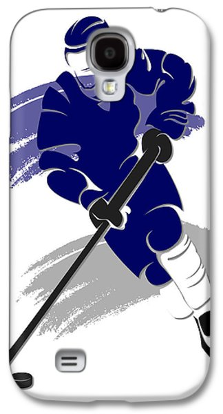 Maple Leafs Shadow Player2 Galaxy S4 Case by Joe Hamilton