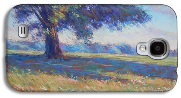 Impressionism Pastels Galaxy S4 Cases - Maple on the Hillside Galaxy S4 Case by Michael Camp