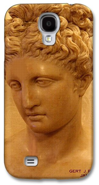 Abstract Digital Sculptures Galaxy S4 Cases - Marble Bust Galaxy S4 Case by Gert J Rheeders