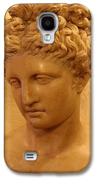 Abstract Digital Sculptures Galaxy S4 Cases - Marble Bust Vb Galaxy S4 Case by Gert J Rheeders